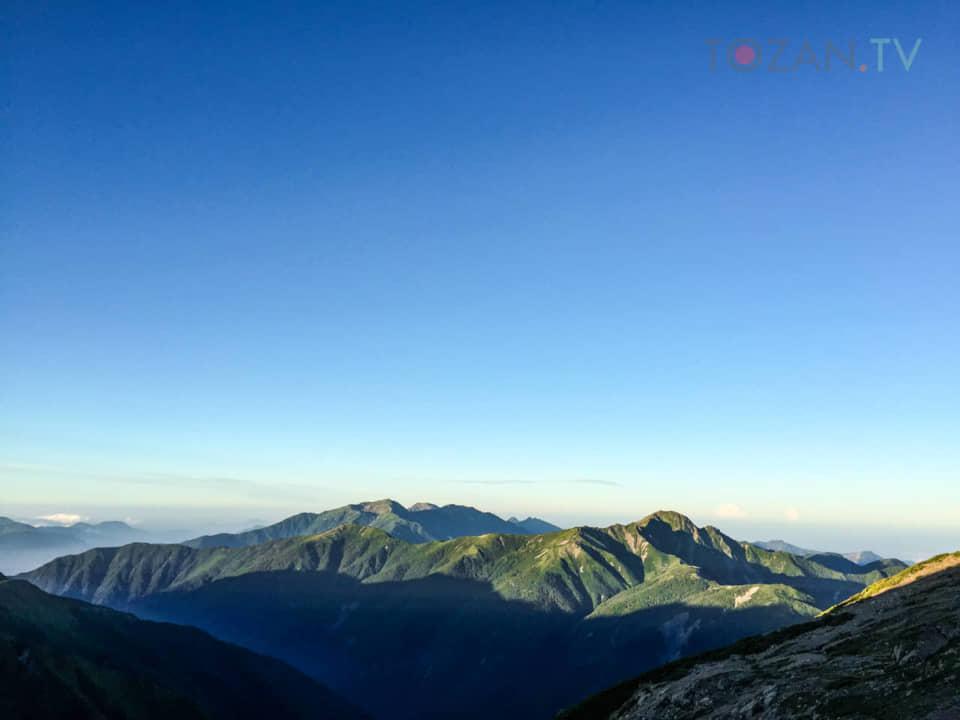 塩見岳と深南部