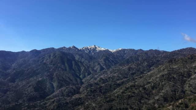 宮之浦岳への縦走路